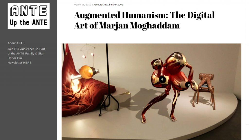 Augmented Humanism: The Digital Art of Marjan Moghaddam